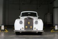 Weinlese-Rolls Royce-Auto Stockbild