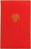 Weinlese-rotes Buch XXL Stockbild