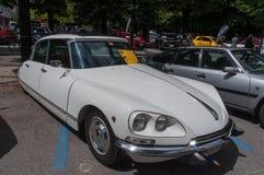 Weinlese 60 - 70 ` s Citroen Auto Stockfotos