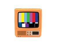 Weinlese-Sachen. Fernsehapparat Lizenzfreies Stockfoto