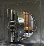 Weinlese-Safes Stockfoto