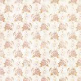 Weinlese-schäbiges schickes Rosen-Muster Stockbilder