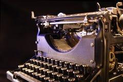 Weinlese-Schreibmaschine Lizenzfreies Stockbild