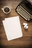 Weinlese-Schreibmaschine Lizenzfreies Stockfoto