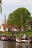 Weinlese-Segelboot stockfotografie