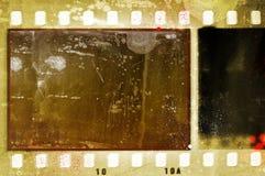 Weinlese Sepiafilm-Streifenrahmen Stockfotos