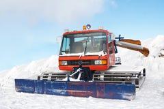 Weinlese snowcat Lizenzfreie Stockfotografie
