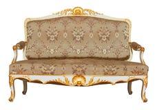 Weinlese-Sofa Stockbild