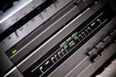 Weinlese-Stereoanlage Lizenzfreies Stockfoto