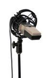 Weinlese-Studio-Mikrofon lizenzfreies stockbild
