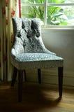 Weinlese-Stuhl stockbild