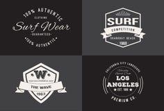 Weinlese-T-Shirt Design stockfotos