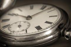 Weinlese-Taschen-Uhr Lizenzfreie Stockbilder