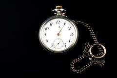 Weinlese-Taschen-Uhr Stockbild
