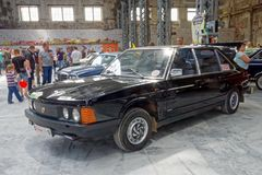 Weinlese Tatra T-613 Motor- Archivbild Lizenzfreie Stockfotos
