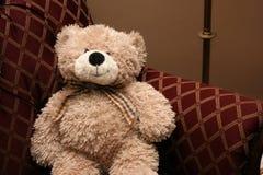 Weinlese-Teddybär Stockfotos