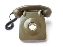 Weinlese-Telefon stockfotos