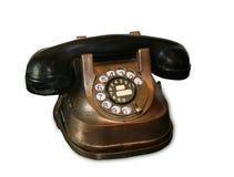 Weinlese-Telefon Stockbild