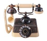 Weinlese-Telefon Lizenzfreies Stockfoto