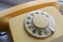 Weinlese-Telefon Lizenzfreie Stockbilder