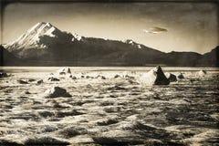 Weinlese UFO in Alaska Stockfoto