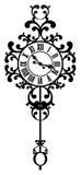 Weinlese-Uhr Lizenzfreie Stockbilder