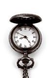 Weinlese-Uhr lizenzfreie stockfotos