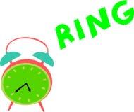 Weinlese-Uhr-Ringe Stockfotos