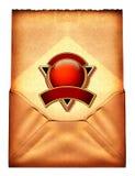 Weinlese-Umschlag Stockbilder