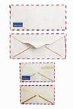 Weinlese-Umschlag Lizenzfreies Stockfoto