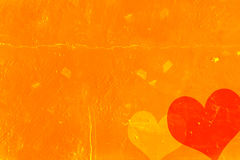Weinlese-Valentinstaghintergrund Lizenzfreies Stockbild