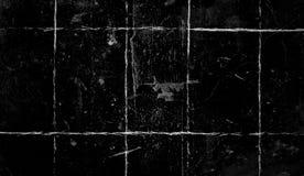 Weinlese verkratzte Schmutzüberlagerungen auf lokalisiertem schwarzem Hintergrundraum für Text vektor abbildung