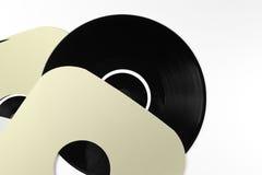 Weinlese-Vinylsätze Stockbild