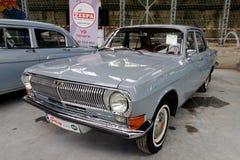 Weinlese Volga GAZ-24 Motor- Archivbild Stockbilder