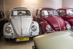 Weinlese-Volkswagen Beetle-Autos Stockbild