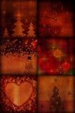 Weinlese-Weihnachten Stockbild