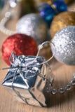 Weinlese-Weihnachten Stockbilder