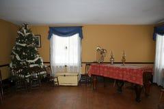 Weinlese-Weihnachtsfeier Stockbilder