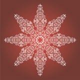 Weinlese-Weihnachtshintergrund mit lokalisiert vektor abbildung