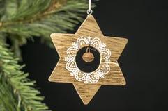 Weinlese-Weihnachtsverzierung Lizenzfreies Stockbild