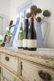 Weinlese-Wein-Probieren Stockfotografie