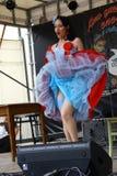Weinlese wurzelt Festival Inzago MI Italien Al 24 Dals 19 giugno 2018 Stockbilder