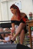 Weinlese wurzelt Festival Inzago MI Italien Al 24 Dals 19 giugno 2018 Stockfoto