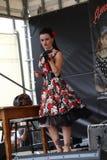 Weinlese wurzelt Festival Inzago MI Italien Al 24 Dals 19 giugno 2018 Lizenzfreie Stockfotografie