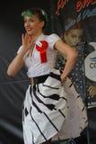 Weinlese wurzelt Festival Inzago MI Italien Al 24 Dals 19 giugno 2018 Lizenzfreie Stockfotos