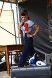 Weinlese wurzelt Festival Inzago MI Italien Al 24 Dals 19 giugno 2018 Lizenzfreie Stockbilder