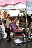 Weinlese wurzelt Festival Inzago MI Italien Al 24 Dals 19 giugno 2018 Lizenzfreies Stockfoto