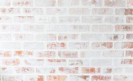 Weinlese-Ziegelsteinwandhintergrund der Nahaufnahme heller Hohe Auflösung Stockbild