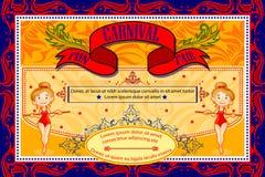 weinlese-zirkus-karikatur-plakat-einladung für partei-karneval und, Einladungen