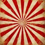Weinlese-Zirkus-Sonnendurchbruch strahlt Illustration aus lizenzfreie abbildung